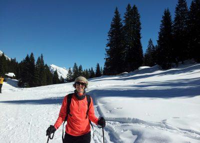 Winter snowshoeing Leutasch